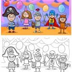 שמחת פורים – דפי צביע לילדים