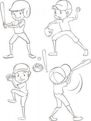 Baseball-Coloring-Page