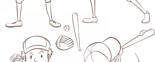 לצבוע שחקני בייסבול