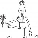 קבלו פרח באהבה מהרובוט