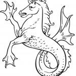 דרקון סוס להדפסה