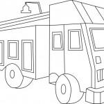 משאית הובלה להדפסה וצביעה
