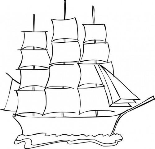 כל המפרשים למעלה - אוניה לצביעה