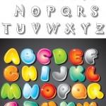 האותיות באנגלית להדפסה