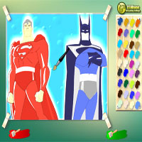 batman-vs-superman-coloring-game