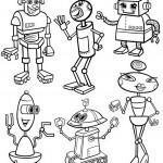 כמה רובוטים! תתחילו לצבוע אותם!