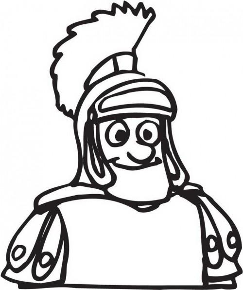 החייל של אנטיוכוס - צביעה לחנוכה
