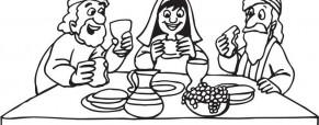 דף צביעה לחג סוכות