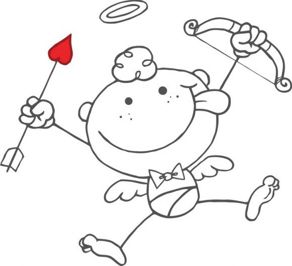 לכבוד חג האהבה אין מקסים יותר מלתת ציורים לילדים עם הדמות האהובה הלא היא קופידון המקסים שאוהב להשתובב.