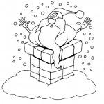 סנטה קלאוס עם שלל מתנות