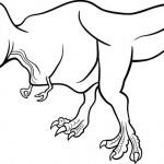 דינוזאור רקס האגדי והפרהיסטורי
