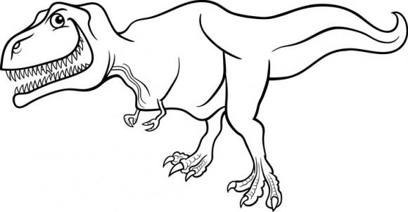 בואו לצבוע דפי צביעה של דינוזאור רקס האימתני והאגדי שהיה מעורר פחד בכל אחד.