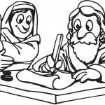 משה מברך לקראת יציאת מצרים