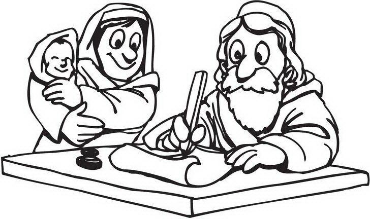 דפי צביעה לפסח של משה מברך את היוצאים לדרך ממצרים אותם  תוכלו לצבוע באווירת החג.