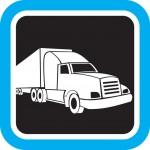 משאית שדורהרת במהירות