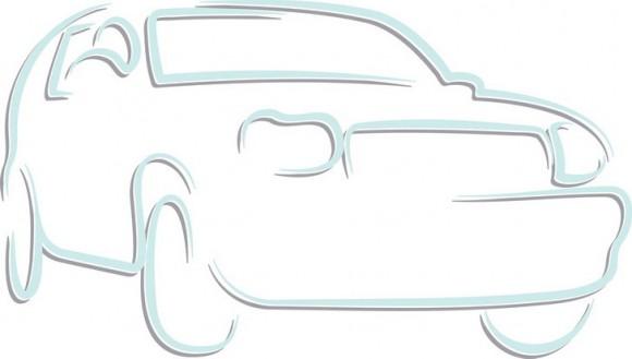 מכונית חמודה עם קווים פשוטים במיוחד אשר מתאימים לכל גיל ועוד המון דפי צביעה מכוניות.