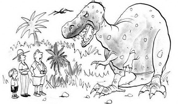 דפי צביעה דינוזאורים אותם ניתן לצבוע בשלל צבעים ובהנאה של דינוזאור גדול אשר מפחיד משפחה חמודה.
