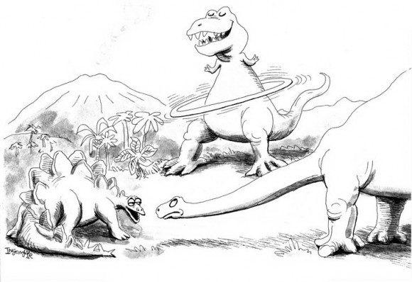 דפי צביעה להורדה של דינוזאורים על רקע מרהיב ביופיו וללמוד כיצד חיו פעם הדינוזאורים.