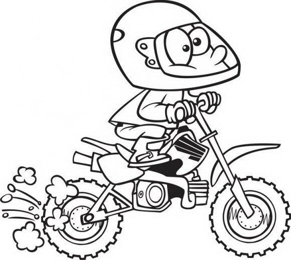 המון דפי צביעה מכוניות של איש מצחיק עם קסדה שנוסע על אופנוע אותו תוכלו לצבוע בהנאה.