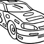 מכונית מירוץ מגניבה לצביעה