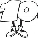 מספר עשר לצביעה