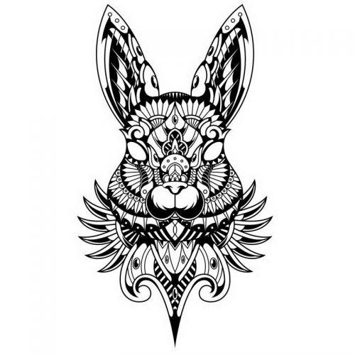 ארנב מנדלה לצביעה