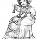 בובת פורצלן להדפסה