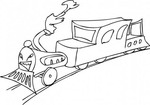 הרכבת העצבנית
