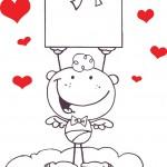 קופידון מקסים לחג האהבה