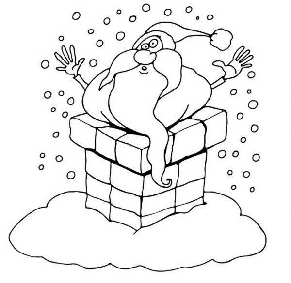 סנטה קלאוס מחליק בערובה