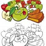 תפוחים עסיסיים מכל הסוגים
