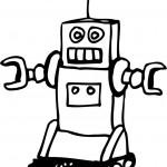 הרובוט הקטן לצביעה