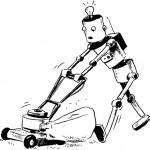 הרובוט הגנן לצביעה
