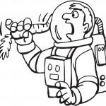 אסטרונאוט אוכל גזר