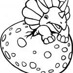 דינוזאור תינוק בוקע מביצתו