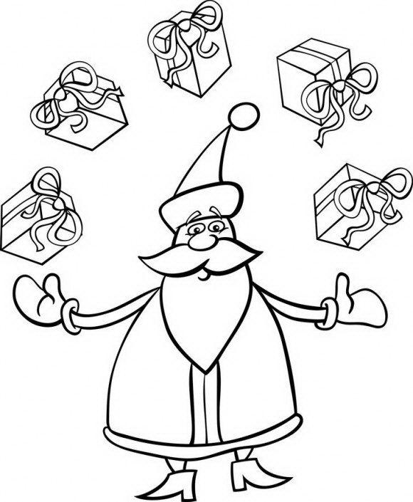 בואו לצבוע בכיף את סנטה קלאובס המקסים שמביא לכל הילדים מתנות ועוד המון דפי צביעה להדפסה.