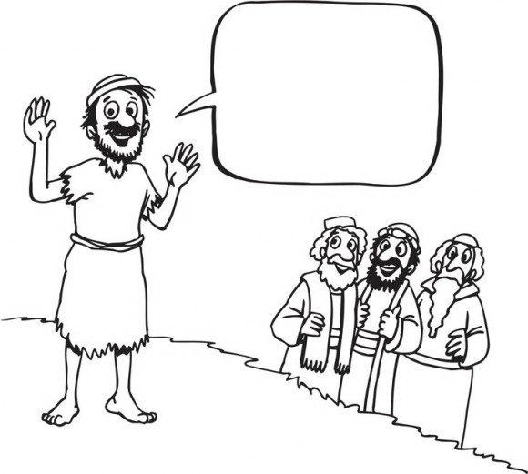 דפי ציור לילדים במיוחד לחג הפסח בהם משה קורה לבני ישראל לצאת ממצרים אחריו.